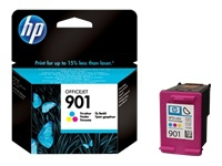 HP 901 ink color 9ml J4580 All-in-One blister.