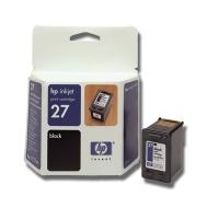 HP #27 Black Inkjet Cartridge (C8727AE)