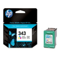 HP Color Inkjet Cartridge No.343 (C8766EE)