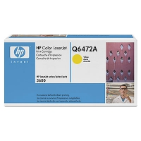 Toner HP CLJ 3600 yellow