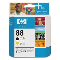 HP #88 Black & Yellow Printhead (C9381A)