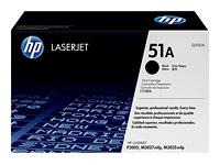 HP Black Laser Toner (Q7551A)