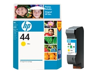 HP Yellow Inkjet Cartridge No.44 (51644YE)