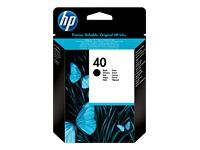 HP Black Inkjet Cartridge No.40 (51640AE)
