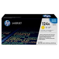 HP Yellow Laser Toner (Q6002A / 124A)