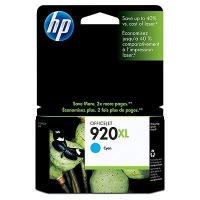HP Cyan Inkjet Cartridge No.920XL (CD972AE)