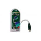 USB Adaptor, (A han: 2 x PS/2 hun) med ledning