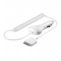 Apple iPad billader 12V/24V hvid