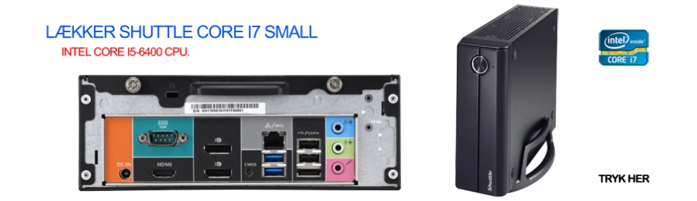 Zitech shuttle small i7