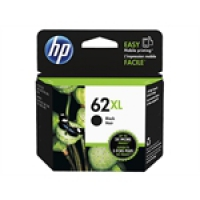 HP Black Inkjet Cartridge No.62XL