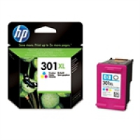 HP Color Inkjet Cartridge No.301XL (CH564EE)
