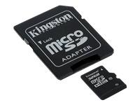 KINGSTON MicroSDHC 32GB Class 10 incl adapter