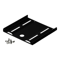 Goobay SSD Bracket adapter 2.5 to 3.5 kit sort