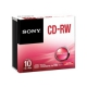 SONY 10CRW80SHS 700MB 10x pack slimcase