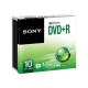 SONY 10DPR47SS DVD+R 4.7GB 16x spindl