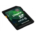 KINGSTON 64GB SDXC Class 10 Flash Card