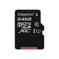 KINGSTON 64GB microSDXC Class10 UHS-I 45MB/s