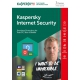 Kaspersky Internet Security MD 2017 3user/3aar OEM
