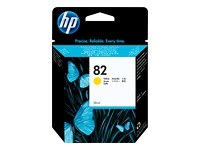 HP Yellow Inkjet Cartridge No.82 (C4913A)