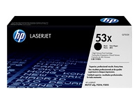 HP Toner Q7553X black
