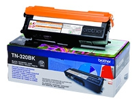 BROTHER Black Laser Toner (TN320BK)