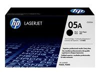 HP Black Laser Toner (CE505A)