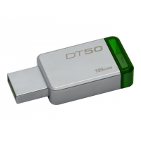 KINGSTON 16GB USB3.0 DataTraveler50 Metal/Green