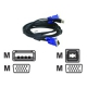 D-LINK KVM USB cable-Kit