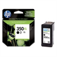 HP Black Inkjet Cartridge No.350XL (CB336EE)